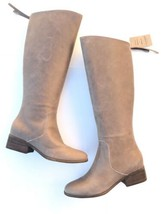 Lucky Brand Womens Sz 9.5 Over The Knee Riding Boots Lanesha Brindle Tus... - $93.49