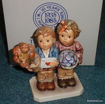 """The Love Lives On"" Goebel Hummel Jubilee FigurineWith Original Box - GR... - $169.74"