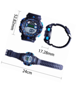Mens Military Multifunction Digital LED Watch Electronic Waterproof  Sports - $24.99