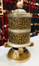 2 Line Om Mani Peme Hum Handmade Tibetan Prayer Wheel-BC1 - $123.75