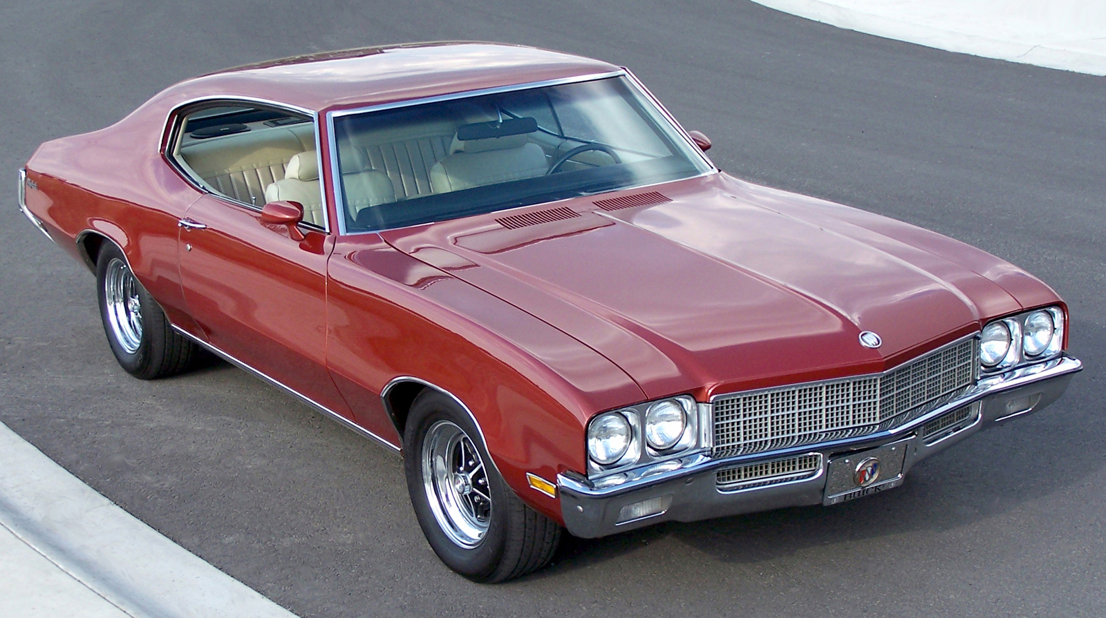 Primary image for 1972 Buick Skylark Front | 24 X 36 inch poster