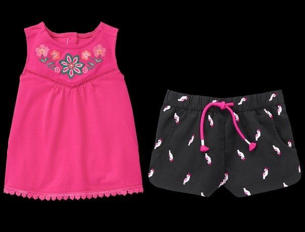 ac52c13ee76e Gymboree Jungle Brights 5T 5 Pink and 50 similar items