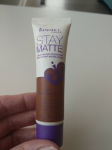 Rimmel London Stay Matte Liquid Mousse Foundation, 504 Deep Mocha New - $8.86