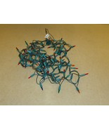 Generic Christmas Tree Lights 22ft Green/Multicolor Plastic - $10.76