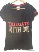 "Victoria's Secret PINK 49ers v-neck t-shirt  "" Tailgate with me"" NFL M M... - $47.95"