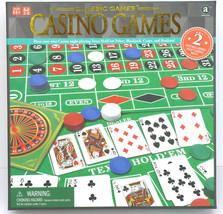 Ambassador Classic 4-in-1 Casino Games Blackjack Roulette Craps Poker - $22.34