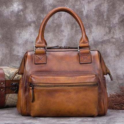 Sale, Fashion Full Grain Leather Messenger Bag, Shoulder Bag, Satchel Bag, Leath image 4