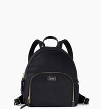 NWT Kate Spade Medium Dawn Black Nylon Backpack - $84.99