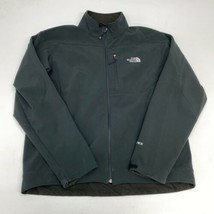 The North Face APEX Zip Up Jacket Men's XL Long Sleeve Black Polyester Blend - $39.99