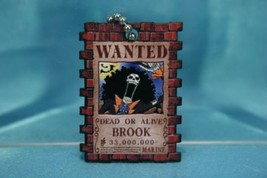 Bandai One Piece Portrait Plate P3 Gashapon Keychain Figure Brook Brooke - $16.99