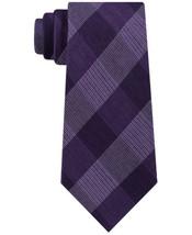Michael Kors Men's Classic Plaid Tie (Purple) - $51.78
