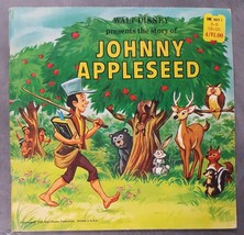 Walt Disney Presents the Story of Johnny Appleseed 1969 Childrens Book P... - $14.84