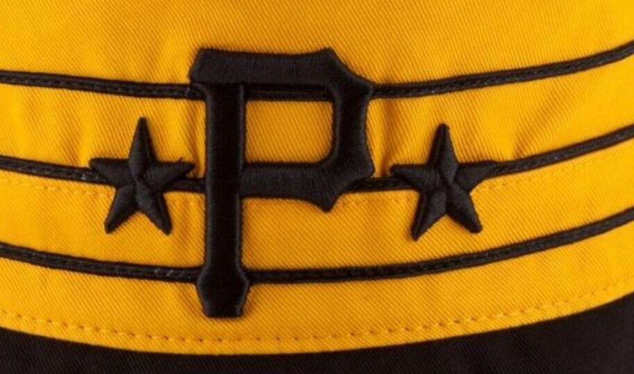 Pittsburgh Pirates New Era Pillbox Wraparound Bucket S/M Fishing Golfing Hat