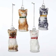 Cat Noble Gems Glass Ornament - $14.95