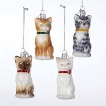 Cat Noble Gems Glass Ornament - $14.95