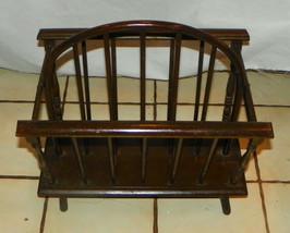 Oak Magazine Rack / Magazine Stand  (HD213) - $149.00