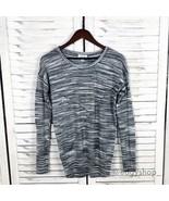 [Calvin Klein] Spacedye Pieced Crewneck Sweater - $16.00