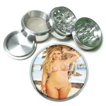 Belize Pin Up Girls D10 63mm Aluminum Kitchen Grinder 4 Piece Herbs & Spices - $13.81