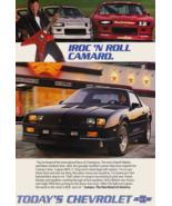 1986 CAMARO Guitar Ad Tin Sign Poster   8x12 Inch  - $31.67
