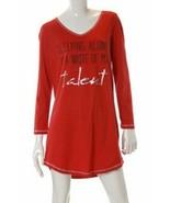 Jenni by Jennifer Moore Women's  Sleepshirt Socks  Sleeping Alone SMALL new - $15.89