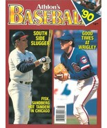 Ryne Sandberg unsigned Chicago Cubs Athlon Sports 1990 MLB Baseball Prev... - $10.00
