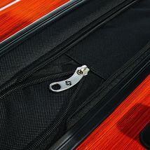 """28"""" Expandable Spinner Luggage Polycarbonate Rolling Suitcase TSA Lock Orange image 6"""