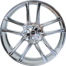 4 Gwg Wheels 22 Inch Chrome Zero Rims Fits Ford Mustang Gt 2005 - 2020 - $999.99