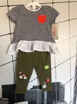 Cat & Jack Infant Girls 0-3 Months 2 Piece Outfit - $8.07