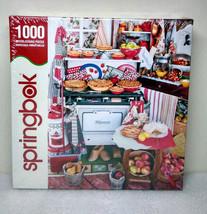 Springbok - Grandma's Kitchen - Jigsaw Puzzle - 1000pcs - New Sealed - $24.99