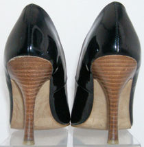 6M heel man black on slip 'Gracefull' stacked pointed made pump toe Mia nPgqxSBw