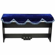 Pleuche Decorative Keyboard Cover Dust-proof Cloth for 88 Keys Electronic Piano