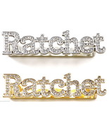 RATCHET Ring 2 - 3 Finger New Iced Out High Fashion Back Plate Design - $19.99