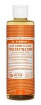 Dr. Bronner's Magic Soaps Fair Trade & Organic Castile Liquid Soap Tea T... - $10.10