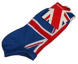 Black Temptation Set of 2 Flag Socks Cotton Socks Men Socks Sports Socks... - £10.40 GBP