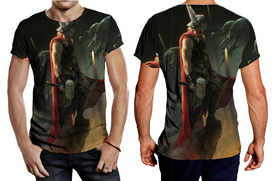 Primary image for Tee Men's Thor HeroicNoCombat Revised
