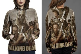 Hoodie women The_Walking_Dead_Collage - $41.70+