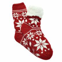 Angelina Women's 3 Pack Christmas Sherpa Lined Thermal Socks with Gift Tags image 8
