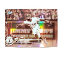 Rougned Odor 2018 Topps Chrome Sepia Refractor Rangers #81 - $2.79