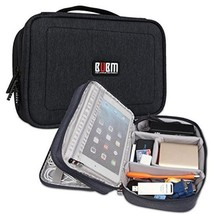 Nylon Shockproof Electronic Organizer Double Layer Travel Gadget Carryin... - €14,26 EUR