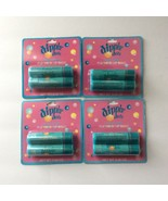 LIP BALM LOT 4pc Set DIPPIN' DOTS Grab Bag/Halloween Giveaway COTTON CAN... - $10.99