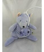 Carters John Lennon Purple Kangaroo Crib Plush Musical Imagine Stuffed A... - $16.95