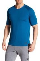 Nike Men Sportswear Raglan Bonded Turquoise Fitness Shirt 805122 301 MSR... - $31.45