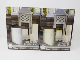 Ashland 3 LED Candles Collection - New - $19.99