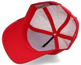 Goorin Bros Snapback Mesh Cap Animal Farm Trucker Hat (Red - Killer Whale) image 4