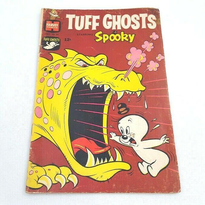 Tuff Ghosts Starring Spooky #23 July 1966 GD 2.0 Harvey Comics - $3.95