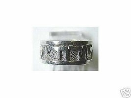 Song of Solomon I am my beloveds and my beloved is mine Jewish ring band... - $21.05