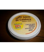 NEW Natural Pumpkin Saddle Soap Cleaner/Conditioner PIELUX Jabon De Cala... - $16.82
