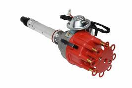 CHEVY SMALL BIG BLOCK Ready-To-Run RED Small Cap R2R Distributor W/45K Volt Coil image 5