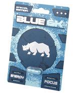 BLUE 6K MALE ENHANCEMENT RHINO 14 CAPSULES MAXIMIZE PERFORMANCE - €78,77 EUR