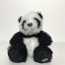 "Ganz Lil' Kinz Panda Plush Stuffed Animal Beanie 6"" No Code - $12.86"